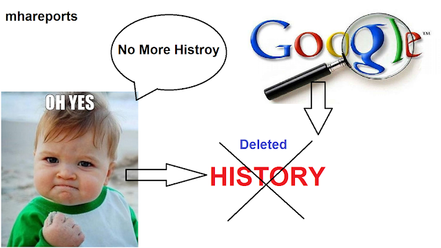 How To Delete Search History From Google