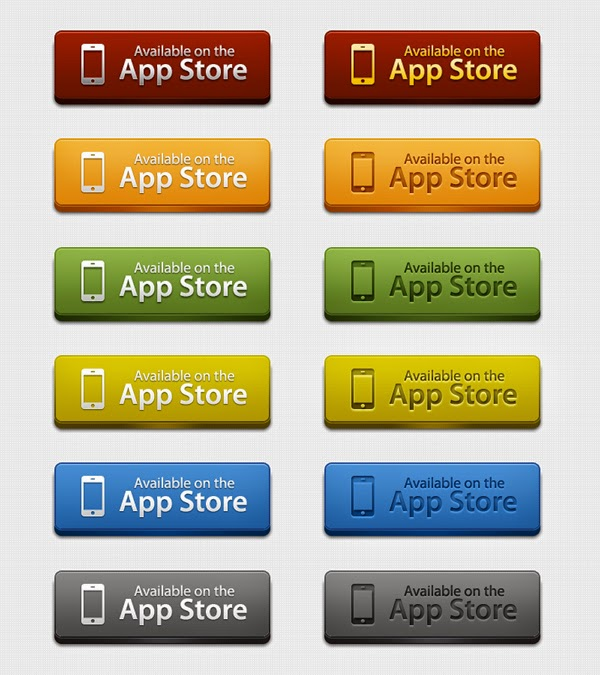 12 App Store Download Buttons