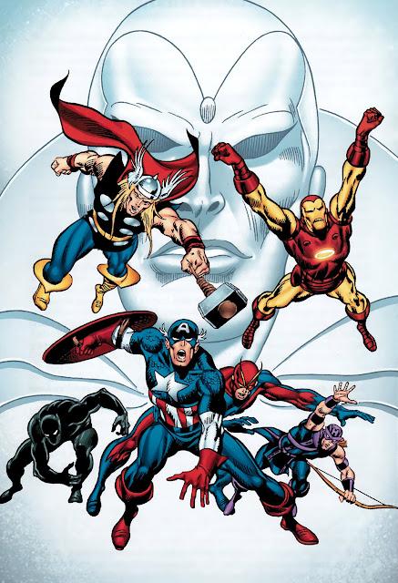 avengers vision comics