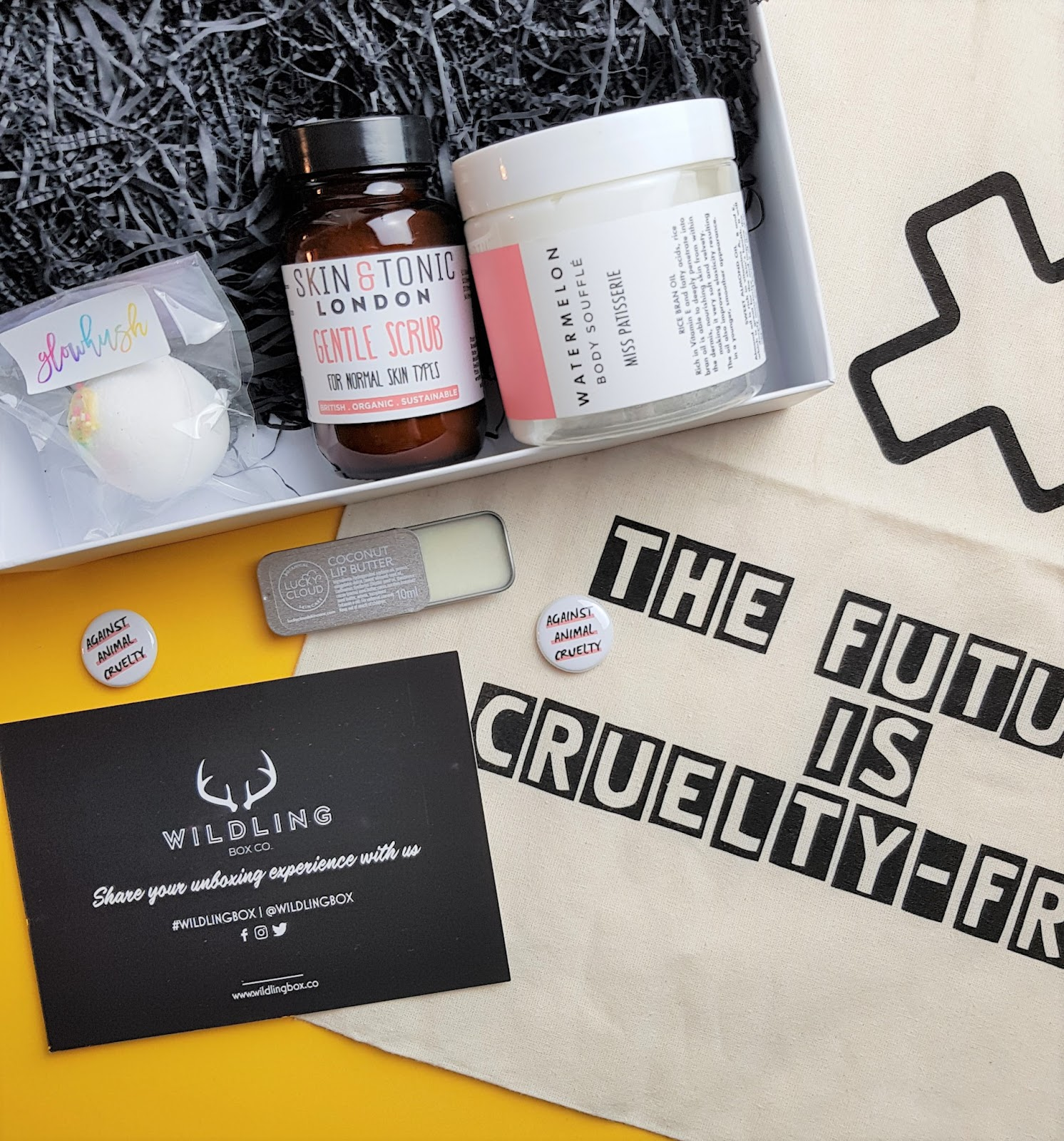Wildling Box The Cruelty-Free Self-Care Subscription Service