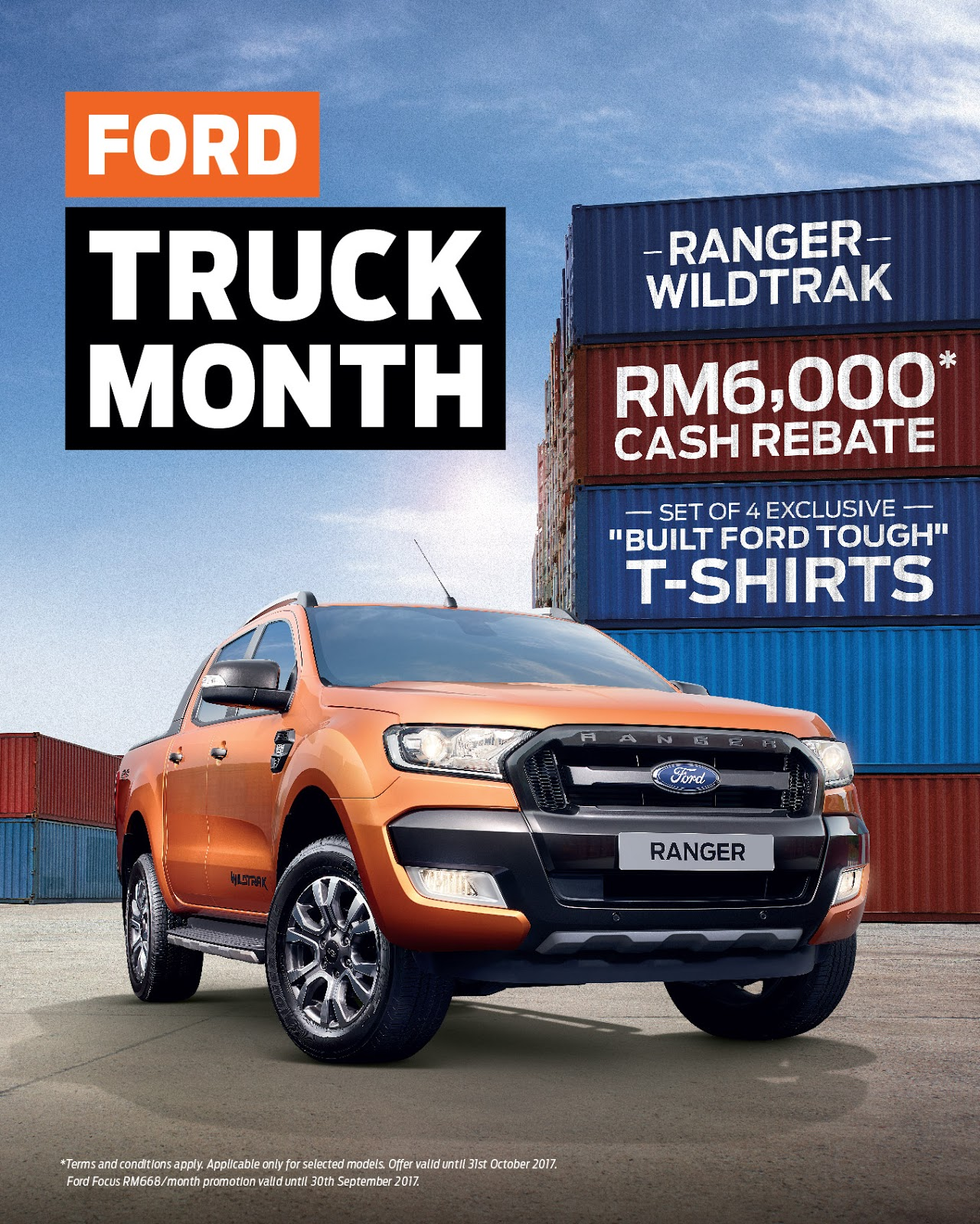 Offers promotions ford truck month showroom deals throughout malaysia this coming weekend 18 20 august 2017