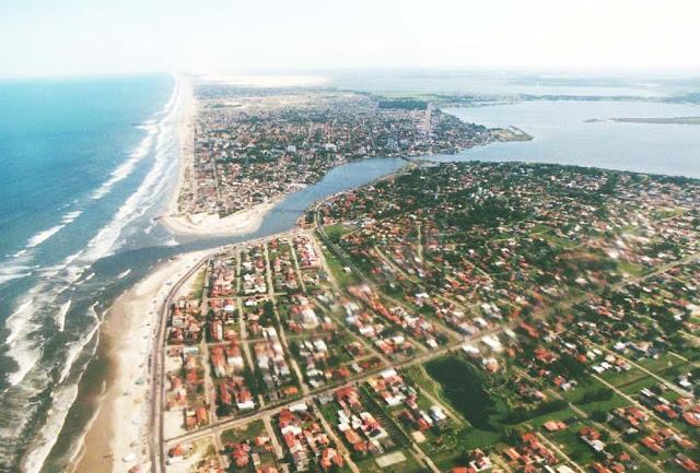 Vista aérea de Tramandaí - RS