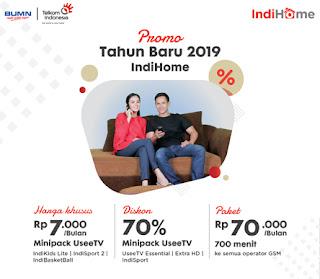 Promo Tahun Baru 2019 IndiHome
