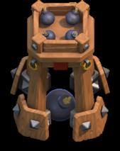 Torre de Bombas nível 1 - Bomb Tower