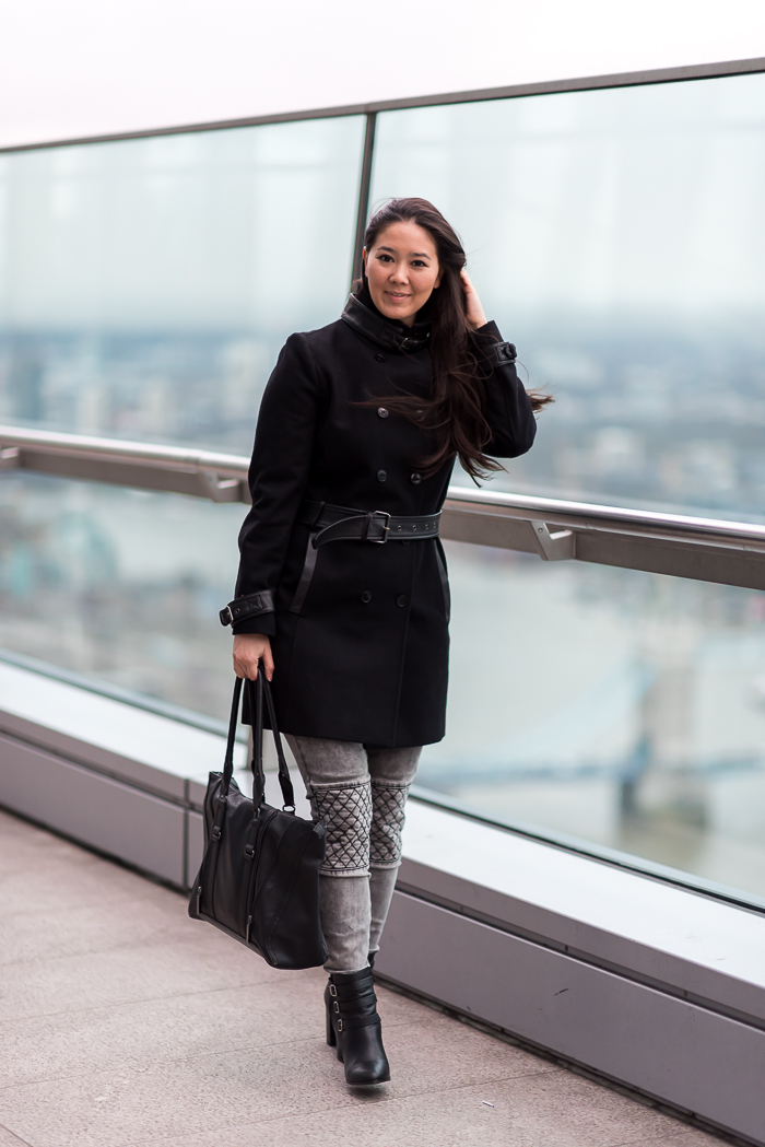 winter london outfit