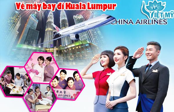 Vé máy bay đi Kuala Lumpur China Airlines