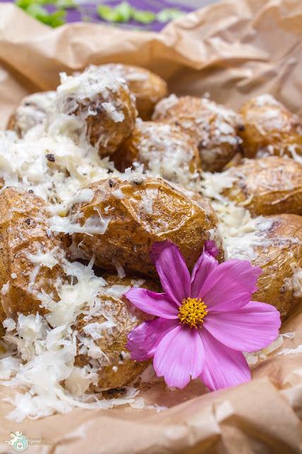 Kartoffeln Cacio e pepe