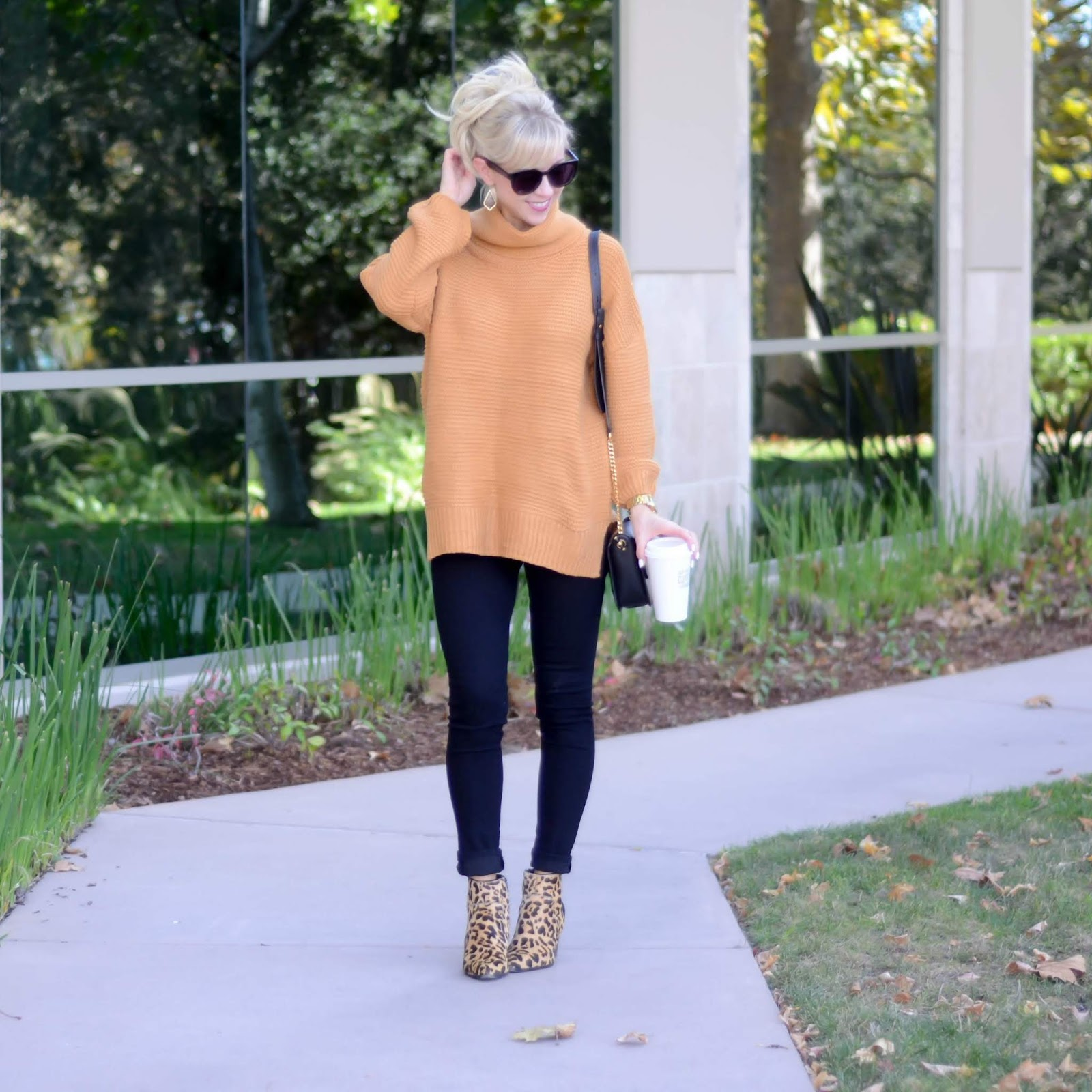 11bf12e1e Chunky Knit Sweater + Currently