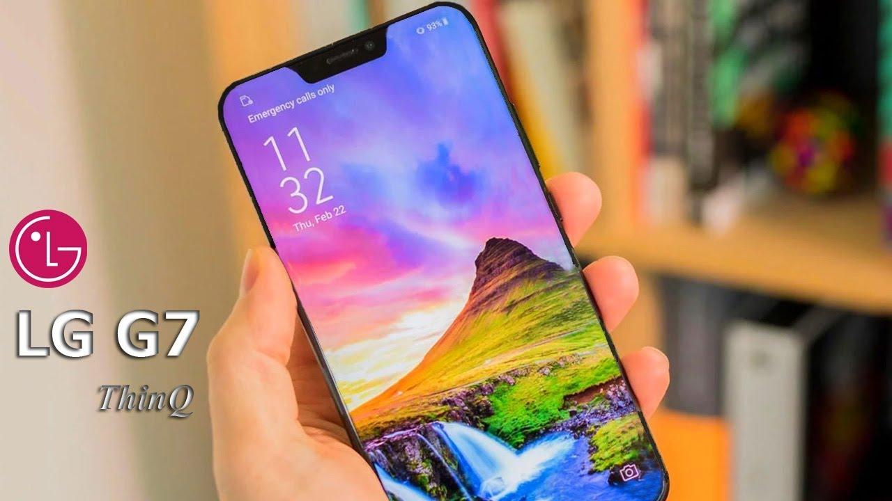 LG تزيح الستار رسميا عن هاتفها الرائد الجديد LG G7 ThinQ بمواصفات جد عالية