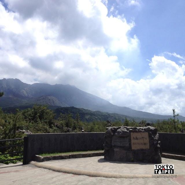 【烏島展望所】百年前是座島 百年後是櫻島上火山熔岩堆成的展望台