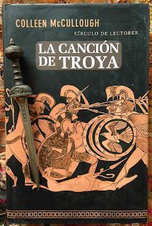 Portada del libro La canción de Troya, de Colleen McCullough