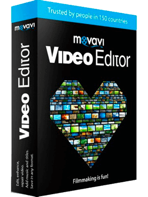 Movavi Video Editor box