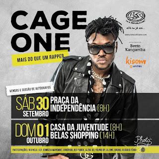 Imagem Cage One feat. Cláudio Fénix - Sem Rede