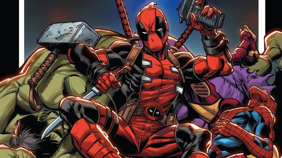 Deadpool, Marvel, Comics, 4K, #4.2980 Wallpaper