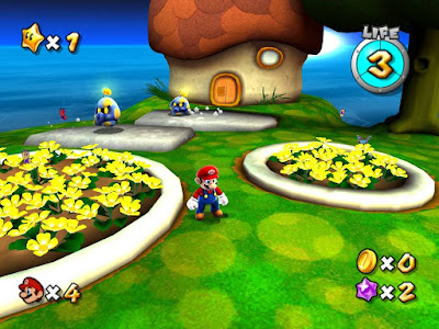 Super Mario Galaxy Screenshot 1