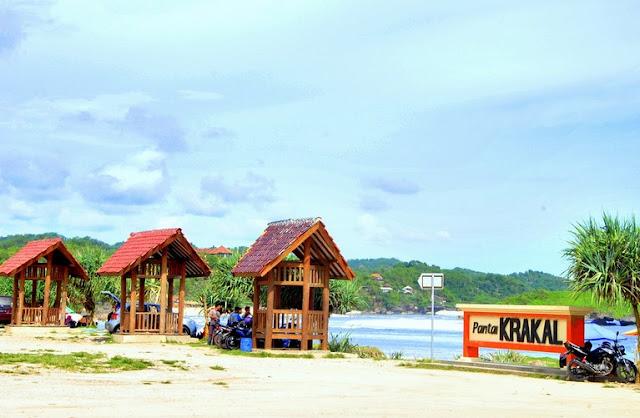 Pantai Krakal Gunung Kidul Yogyakarta
