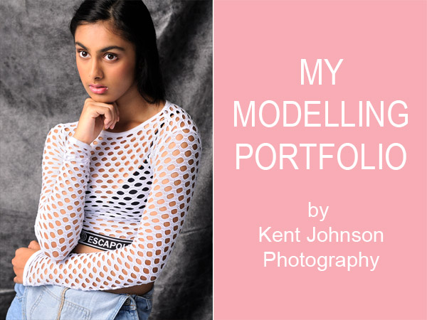 Sonali, My Modelling Portfolio by Kent Johnson Photography.