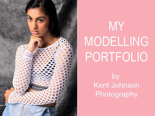 Sonali, My Modelling Portfolio by Kent Johnson Photography.