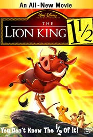 The Lion King 1½ Poster