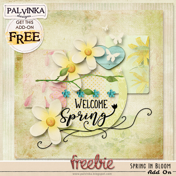 Spring In Bloom and Freebie