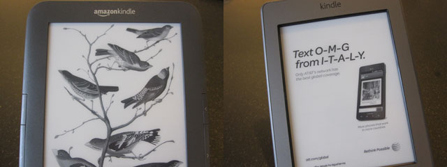 SeattleFlyerGuy's All-Purpose Travel Blog: Gear: Kindle Touch 3G