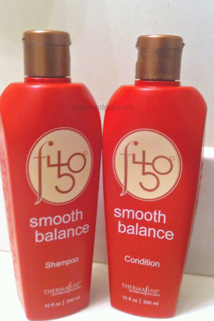 A review of Thermafuse f450° Smooth Balance Shampoo and Condition after using it on relaxed hair. | arelaxedgal.com