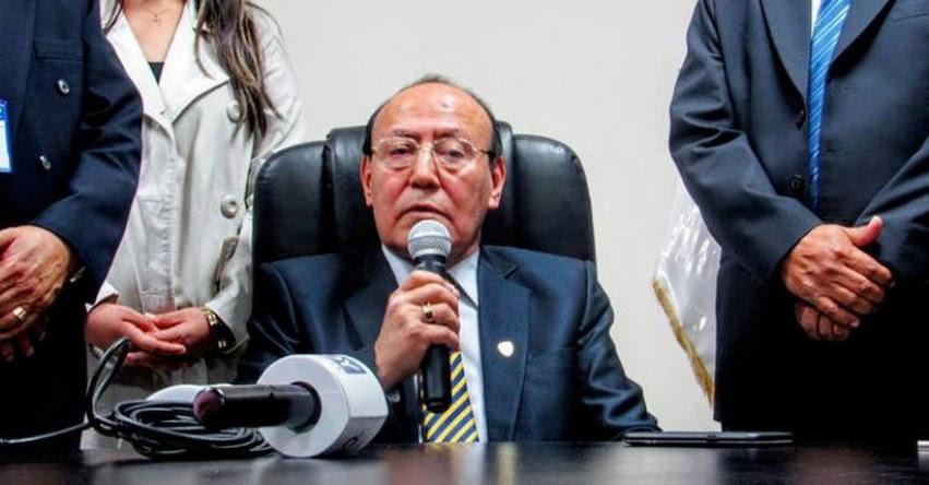 Poder Judicial ordenó captura de José María Huamán Ruiz, rector de la Universidad San Pedro