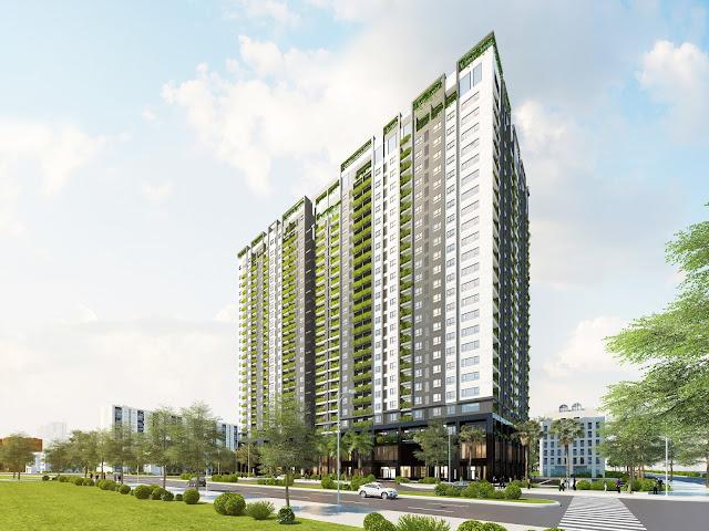Phối cảnh chung cư Anland Premium Nam Cường