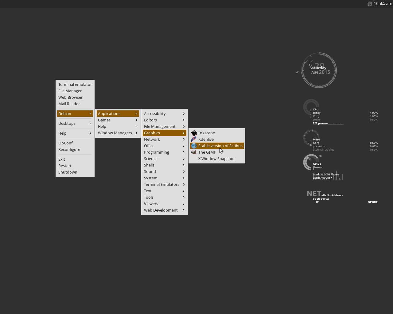 Menu Openbox Otomatis di Ubuntu Menggunakan Debian Menu | M Faqeeh's
