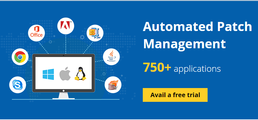 Patch Manager Plus  - free 2Btrail - Patch Manager Plus – A Complete Automated Patch Management Tool