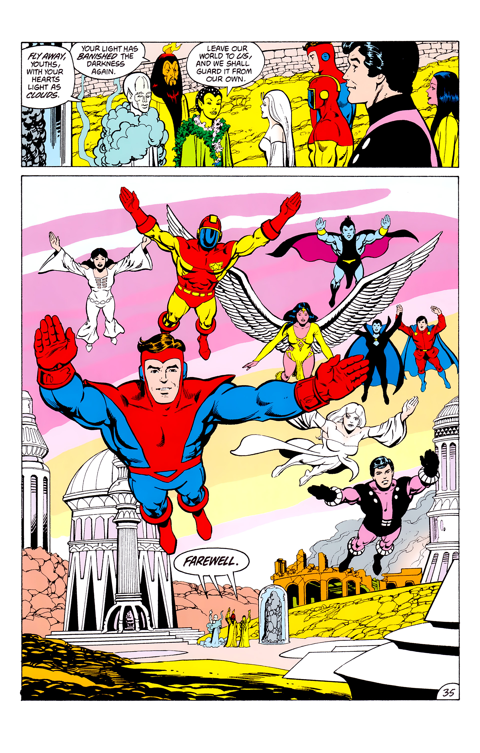 Legion of Super-Heroes (1980) _Annual_3 Page 35