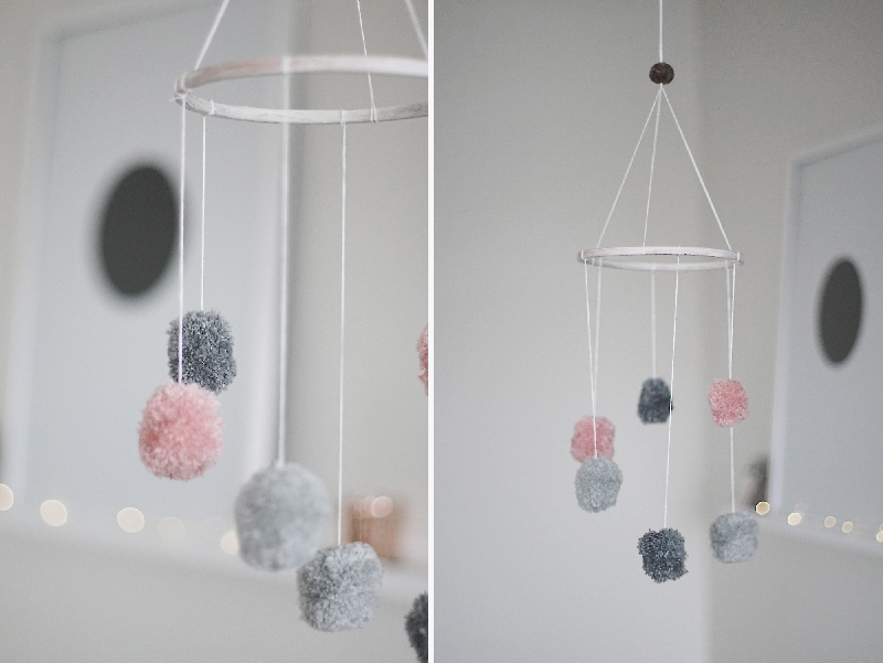 DIY mobile for the nursery