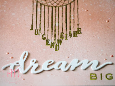 Stampin' Up! rosa Mädchen Kulmbach: Karte zur Jugenweihe mit Follow your dreams und Pick an Pennant