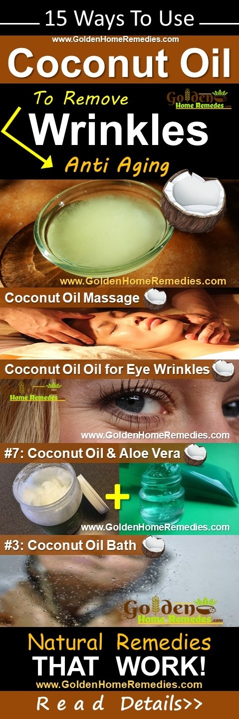 Coconut Oil For Wrinkles, Coconut Oil And Wrinkles, How To Get Rid Of Wrinkles, Home Remedies For Wrinkles, How To Use Coconut Oil For Wrinkles, Overnight Wrinkles Treatment, Is Coconut Oil Good For Wrinkles, Face Wrinkles, Neck Wrinkles, Eyes Wrinkles, Wrinkles Treatment
