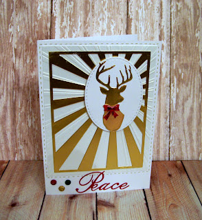 Image result for cards made using frantic stamper deer bust