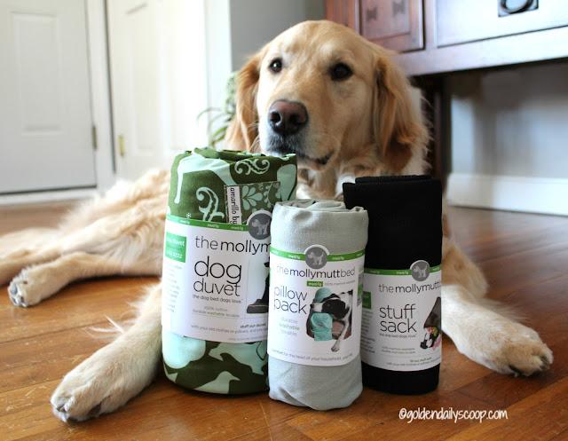 molly mutt dog duvet, stuff sack and pillow pack review