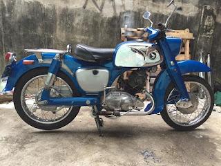 BUKALAPAK MOTOR TUA: Honda C92 alias Benly Twin 1960 - PEKANBARU