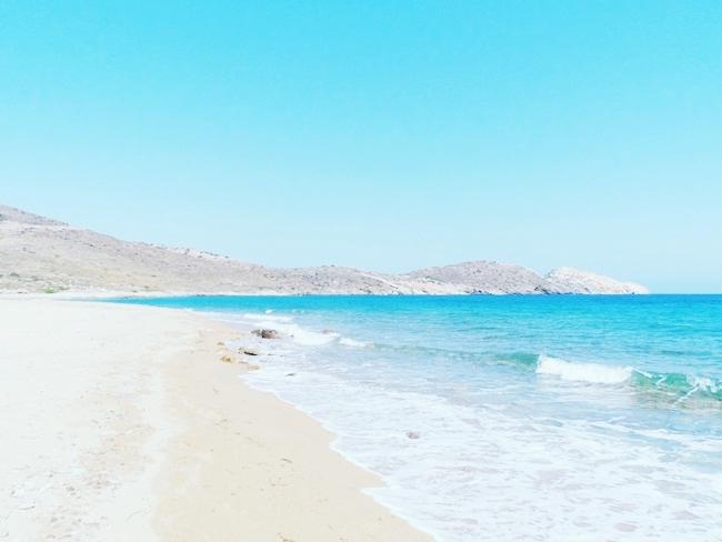 Ψάθη παραλία Ίος