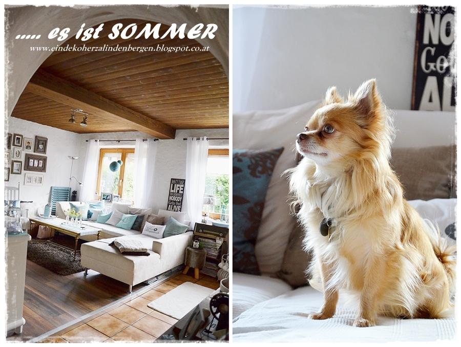 Ein Dekoherzal in den Bergen auf Hochdeutsch: SOMMER-DEKO.....
