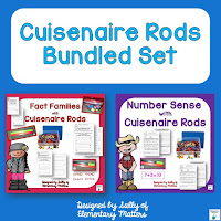 Number Sense with Cuisenaire Rods: this post discusses the importance of Number Sense, and gives some suggestions on developing number sense with the use of Cuisenaire Rods.