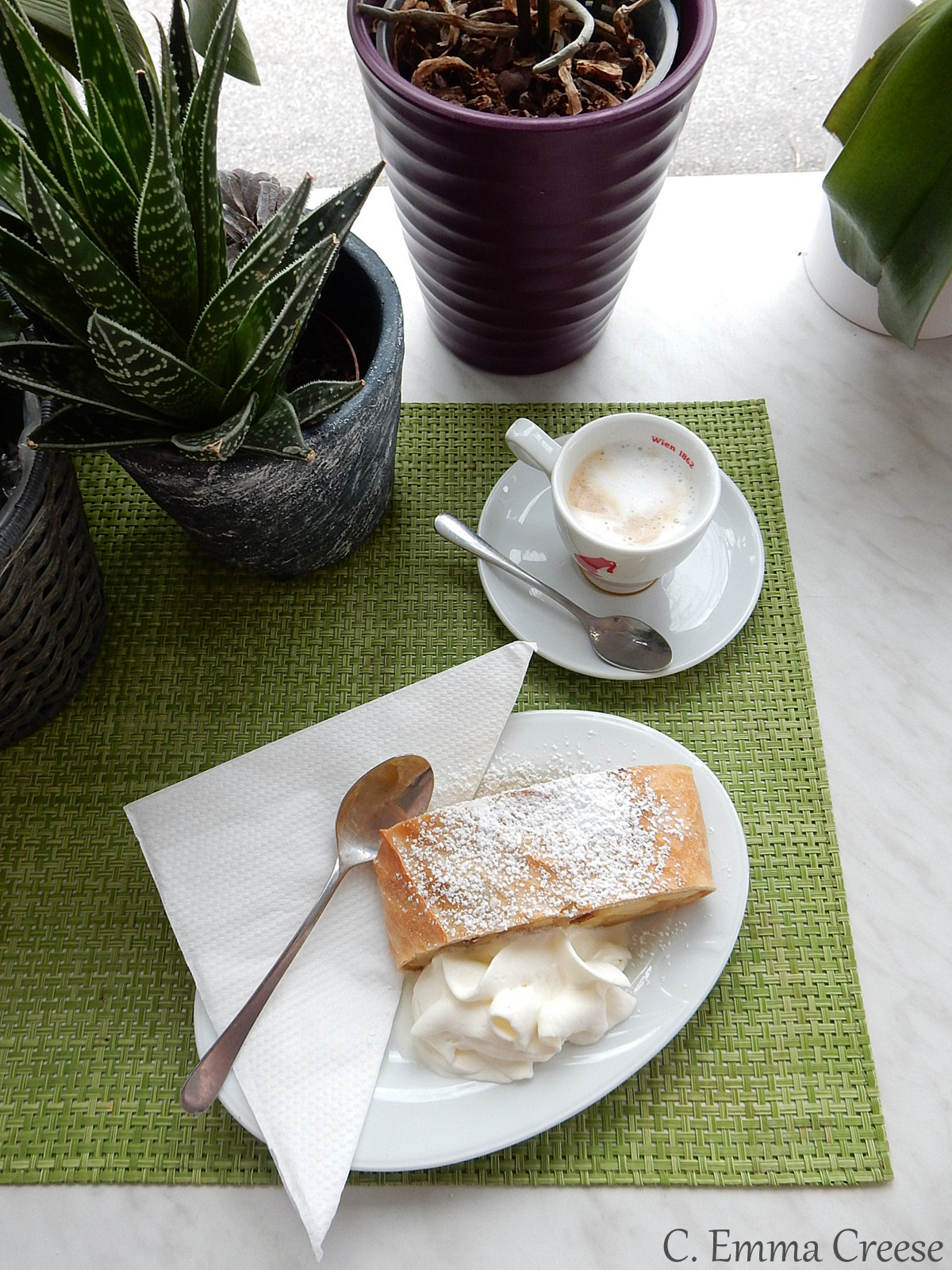 Where to find the best schitznel and cake in Vienna*