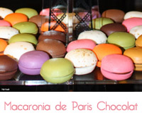 macaronia de Paris Chocolat