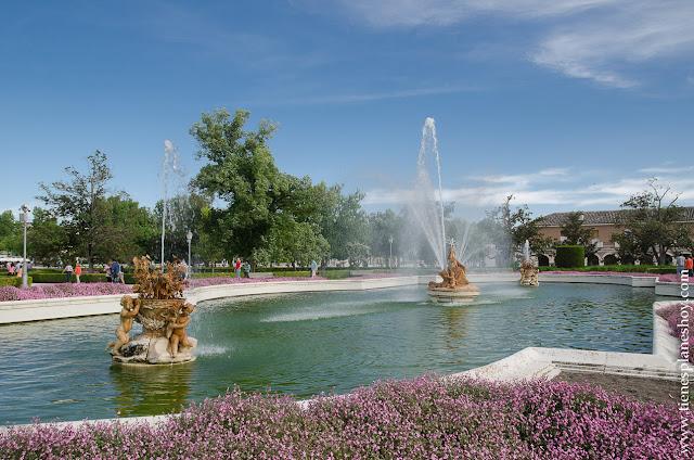 Jardines de Aranjuez Madrid