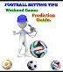 Football Betting Tips, Weekend Games Prediction Guide