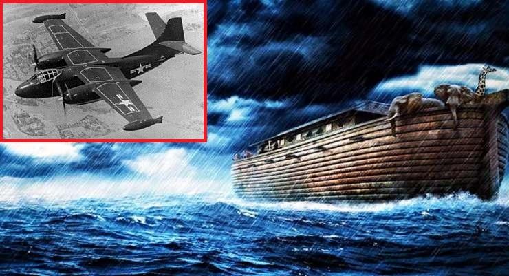 Αμερικανός πιλότος δήλωσε ότι έχει φωτογραφίσει την κιβωτό του Νώε στο όρος Αραράτ!!