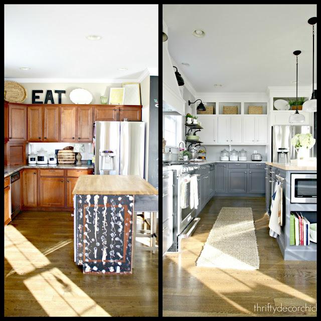 DIY kitchen renovation