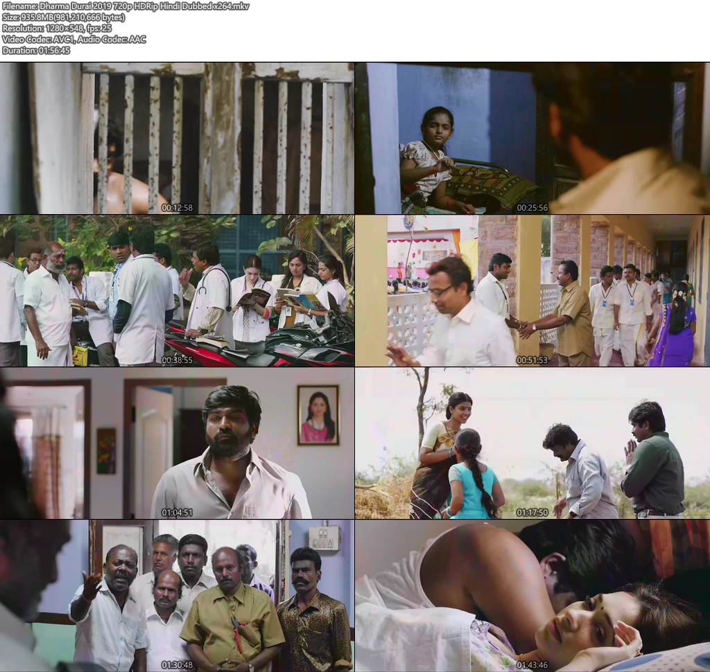 Dharma Durai 2019 720p HDRip Hindi Dubbed | 480p 300MB | 100MB HEVC Screenshot