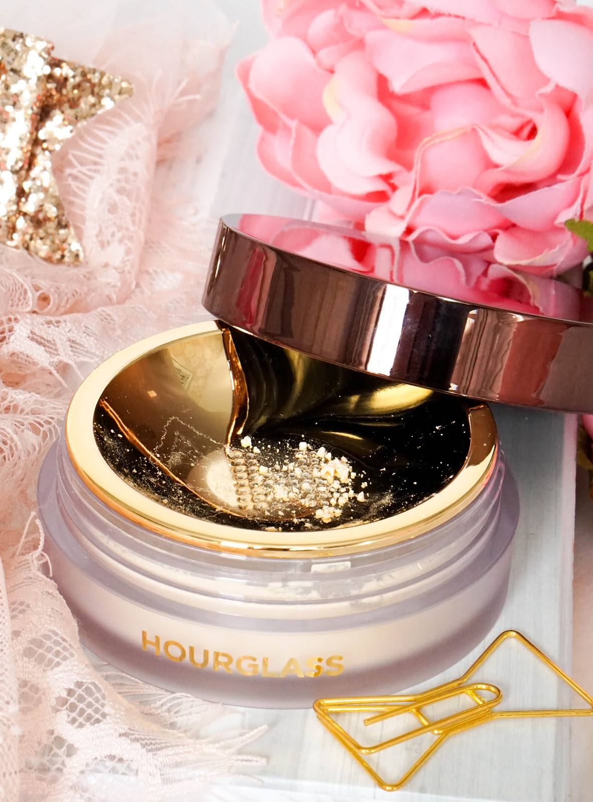 Hourglass Magic of Veil, Veil Retouching Fluid, Veil Translucent Setting Powder