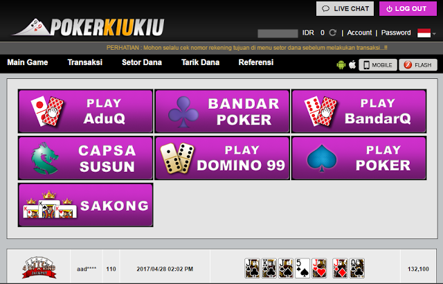 Judi Poker Online Terbesar Asia