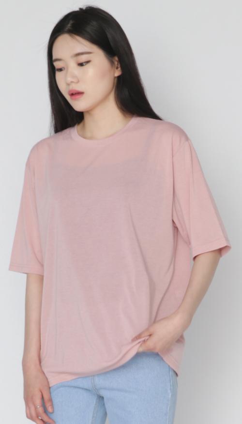 Boxy Half Sleeve T-Shirt